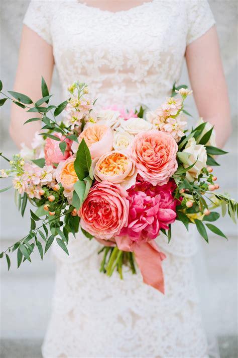 thanksgiving point coral summer wedding flowers utah