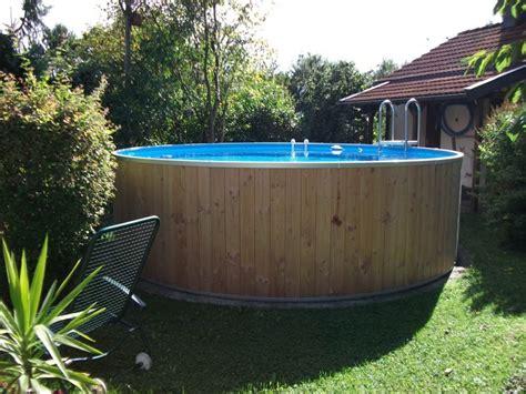 frame pool verkleiden kinderbecken wood ohne holz zum selbst verkleiden hitl gmbh