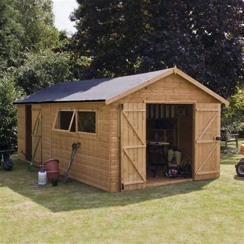 10 X 20 Wooden Storage Shed by 25 Best Ideas About Workshop Shed On Workshop