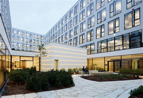 Dupont™ Corian® Facade Panels Icade Premier House By