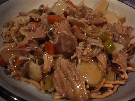 #leftovers #pork #porkroast #soup #stew. The Hidden Pantry: Pork Chow Mein