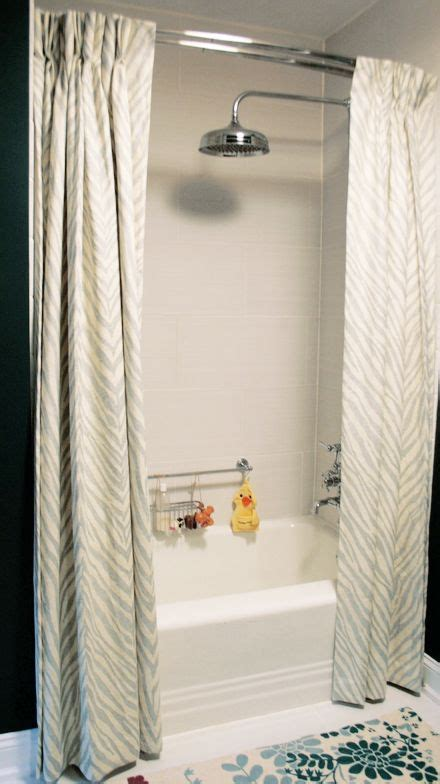 can i use a shower curtain as a window curtain 17 best ideas about two shower curtains on