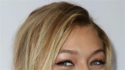 Celebrity Makeup Idea: Gigi Hadid's Pink Eyeshadow at the ...