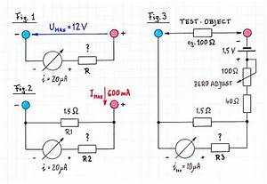 Parallelwiderstand Berechnen : projekt recycelt e thermometer a v ohm multimeter ~ Themetempest.com Abrechnung