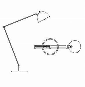 archibit generation srl cad library details lamp With floor lamp cad block