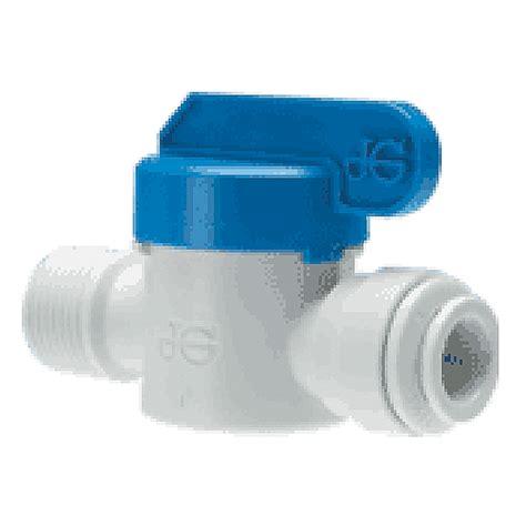 john guest mm shut  valve plastic coast  coast rv