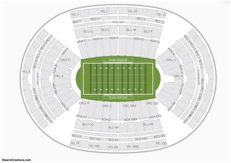 aloha stadium seating chart seating charts