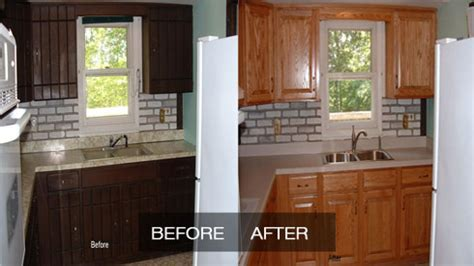 reface kitchen cabinets before and after kitchen refacing home depot reface kitchen cabinets