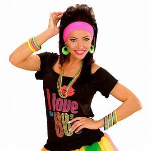 Kleidung 80 Jahre : 80er jahre armb nder 18er set armreifen armreif hippie multicolour modeschmuck armband disco ~ Frokenaadalensverden.com Haus und Dekorationen