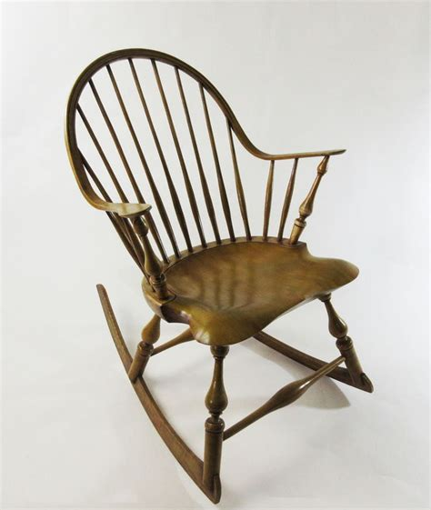 continuous arm windsor rocking chair  luke  barnett