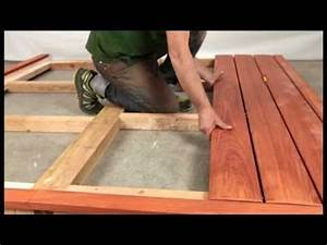 fixation invisible pour terrasse en bois jurafix youtube With fixation lambourde terrasse bois