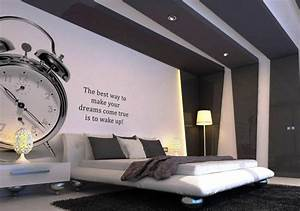 Ideen Zum Streichen : 37 wand ideen zum selbermachen schlafzimmer streichen ~ Frokenaadalensverden.com Haus und Dekorationen