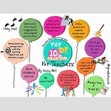 Top 10 Tech Tips For Teachers #sketchnote