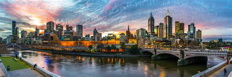 Panoramic Melbourne At Its Best  Steven Wright