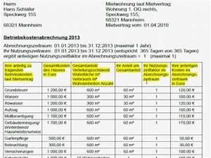 Miete Berechnen Vermieter : betriebskosten nebenkosten als vermieter korrekt abrechnen ratgeber youtube ~ Themetempest.com Abrechnung