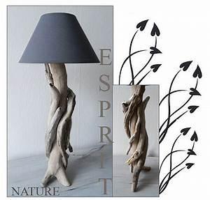 Lampe De Chevet Originale : janvier 2013 au fil de l 39 eau bois flott ~ Teatrodelosmanantiales.com Idées de Décoration