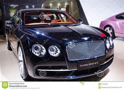 A Black Bentley Car Editorial Stock Photo. Image Of