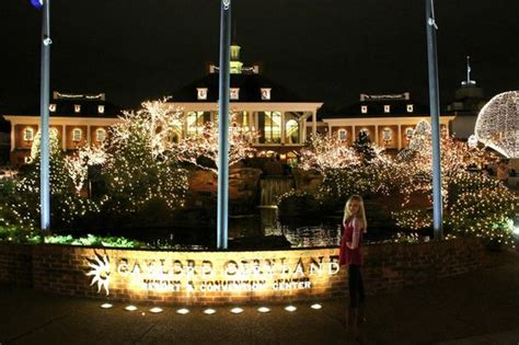 lights picture of gaylord opryland resort convention