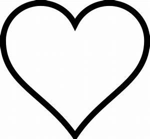 White Heart Clipart - ClipArt Best
