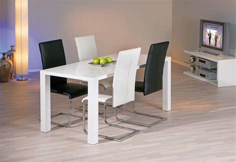 chaise de salle à manger design coloris noir lot de 2