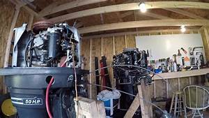 Mercury Outboard Thunderbolt 500 50 Hp Part 1 - Inspection And Disassembly