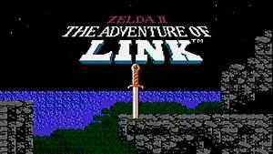 zelda, ii, , the, adventure, of, link, -, nes, gameplay