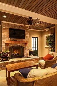 17, Astounding, Brick, Fireplace, Designs, That, You, Need, To, See