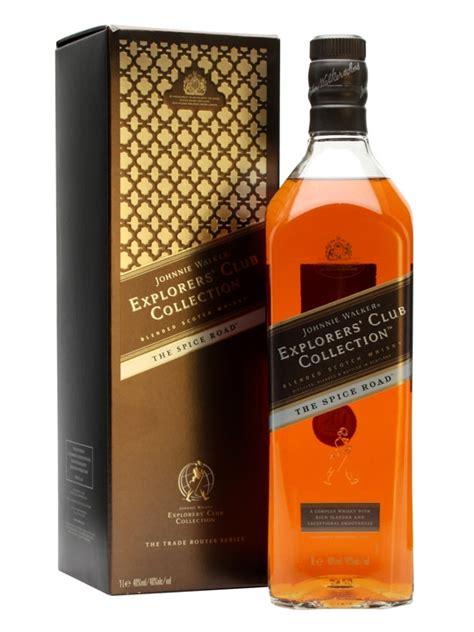 johnnie walker spice road explorers club collection