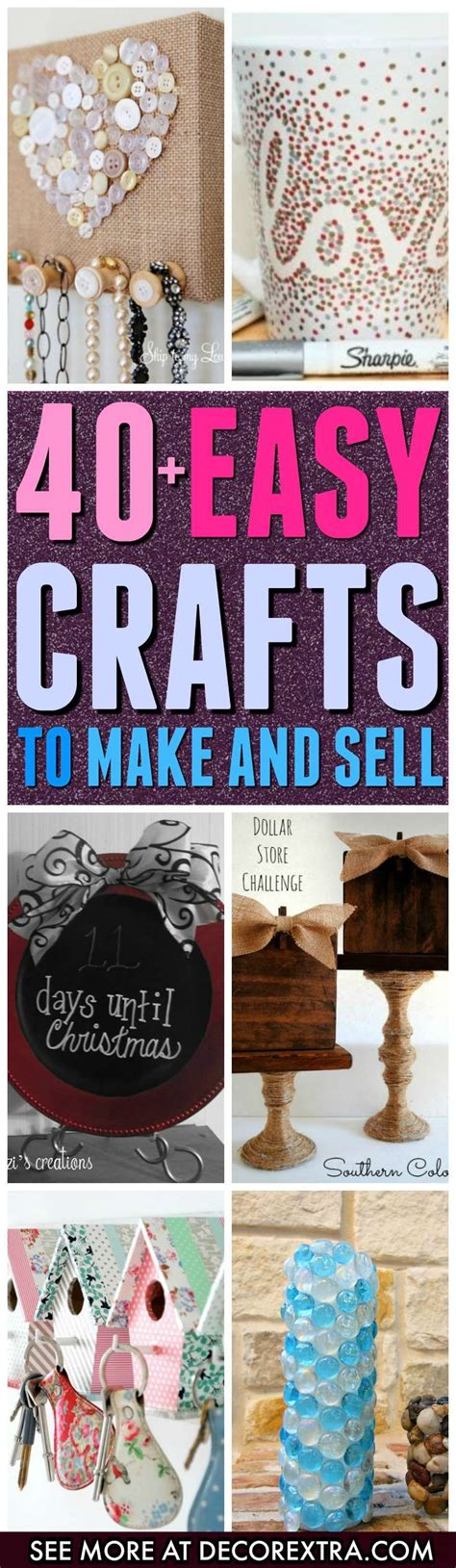 Best 25 Crafts To Sell Ideas On Pinterest Diy Crafts To