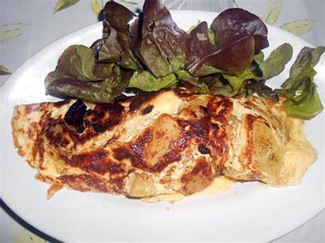 recette d omelette pommes de terre oignons