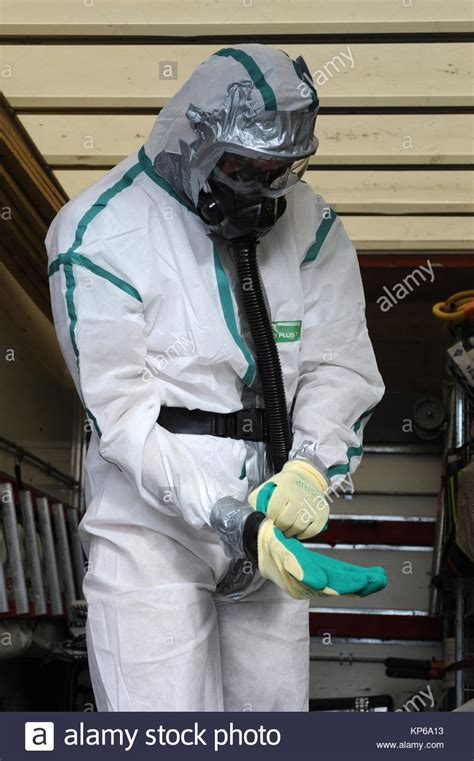 asbestos removal protective equipment stock