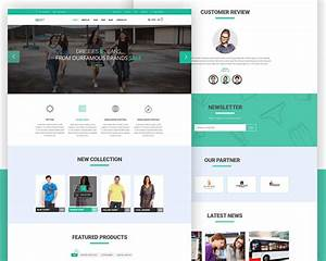 eCommerce website Free PSD Template Download - Download PSD
