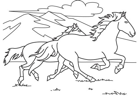 horse coloring pages bestofcoloringcom