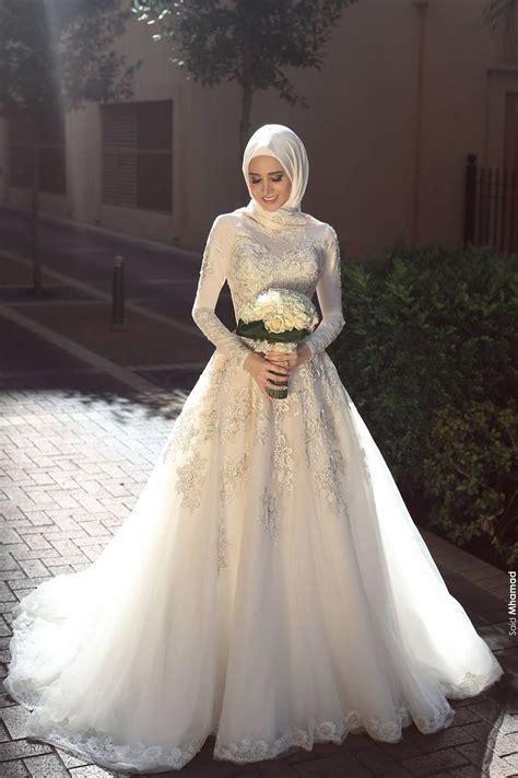 muslimah wedding dress ideas  pinterest
