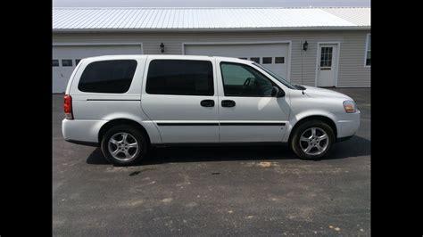 Chevrolet Minivans by 2007 Chevrolet Uplander Minivan