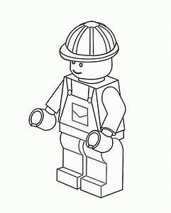 Lego Coloring Pages Free Kiddo Parties Pinterest