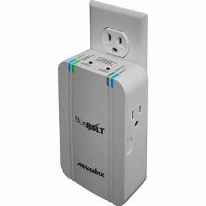 Bluebolt 2 Outlet Surge Protector With Wireless