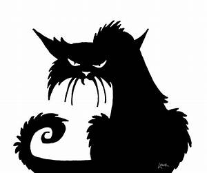 dave lowe design the blog witchcrafty window silhouette With black cat templates for halloween