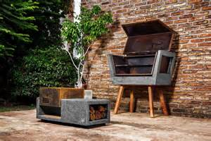 kitchen furniture designs for small kitchen innovative barbecue experience concrete batea outdoor