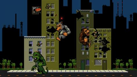 You Can Now Play The Classic Rampage Arcade Game For Free