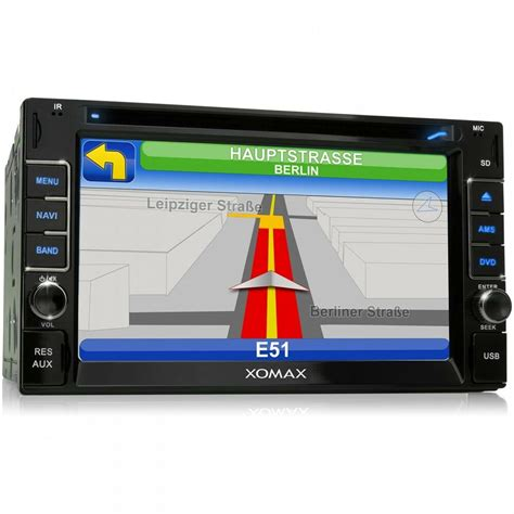 Autoradio Mit Gps Navigation Navi Bluetooth Touchscreen