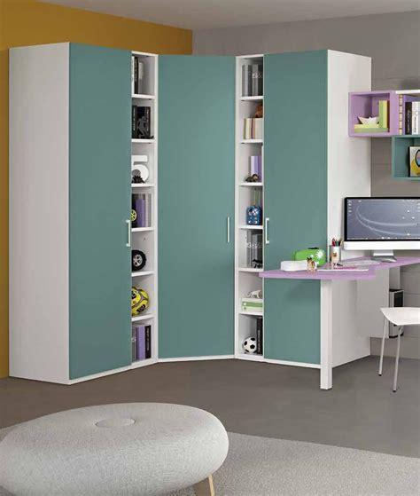 librerie angolo armadio ad angolo 169x169 cm per cameretta con cabina e