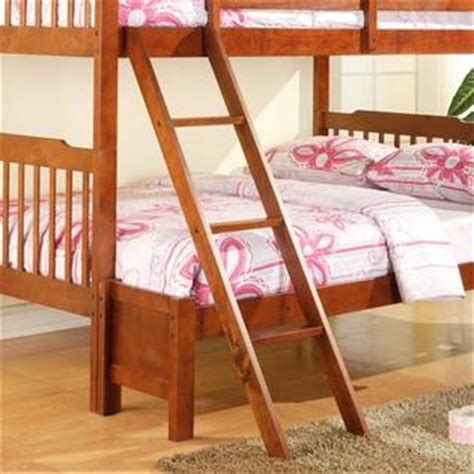 oxford creek twin size full bunk bed  mahogany home
