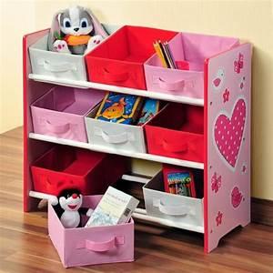 Rangement Chambre Enfant : etagere de rangement fille ~ Teatrodelosmanantiales.com Idées de Décoration
