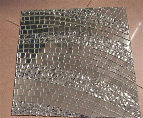 floor mirror tiles wave mirror glass silver mosaic tile swimming pool kitchen backsplash floor tile wall tile