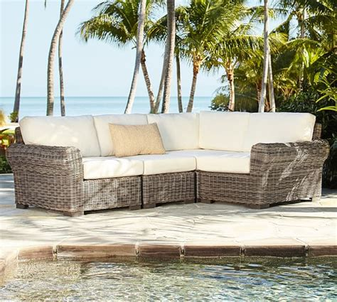 Wicker Outdoor Furniture Sale by Pottery Barn Outdoor Furniture Sale Up To 50 Sectionals