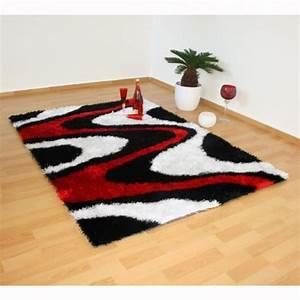 tapis gris noir rouge idees de decoration interieure With tapis rouge gris noir
