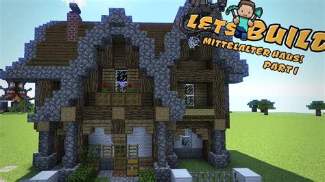 Mittelalterliches Haus Bauen  Minecraft Tutorial Youtube
