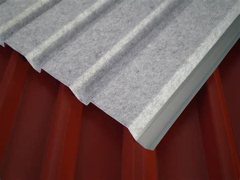 trapezblech mit vlies trapezblech in vielen ausf 252 hrungen in aluminium und stahl