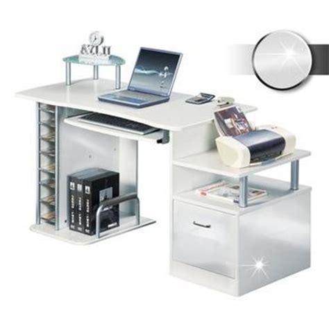bureau informatique blanc bureaux informatiques comparez les prix pour
